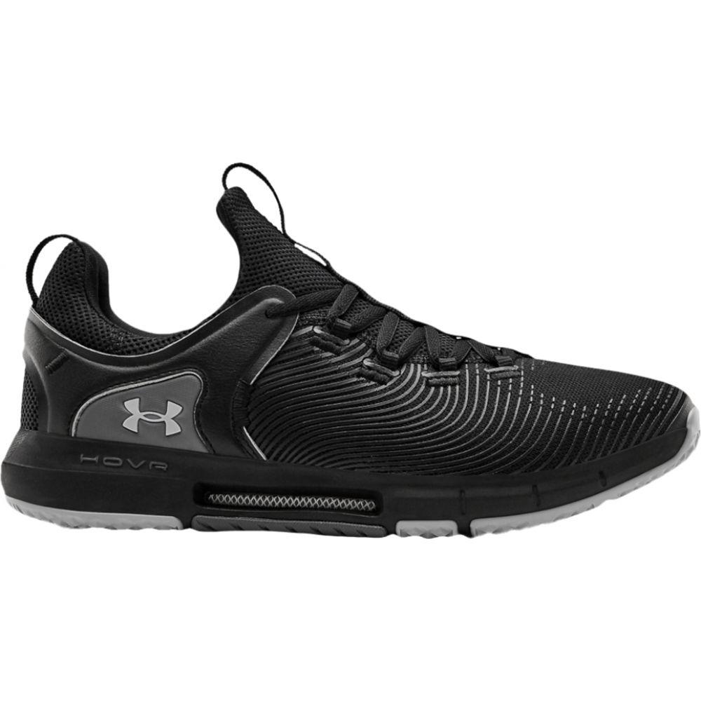 アンダーアーマー Under Armour メンズ フィットネス・トレーニング シューズ・靴【hovr rise 2】Black/Black/Mod Grey:フェルマート