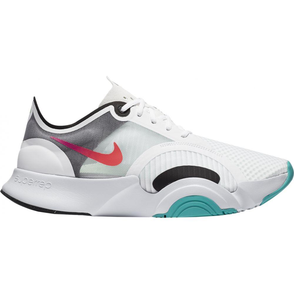 ナイキ Nike メンズ フィットネス・トレーニング シューズ・靴【superrep go】White/Flash Crimson/Black