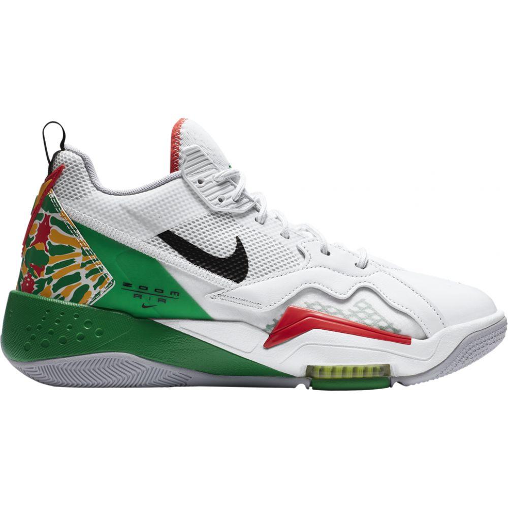 ナイキ ジョーダン Jordan メンズ バスケットボール シューズ・靴【zoom '92】White/Black/Lucky Green