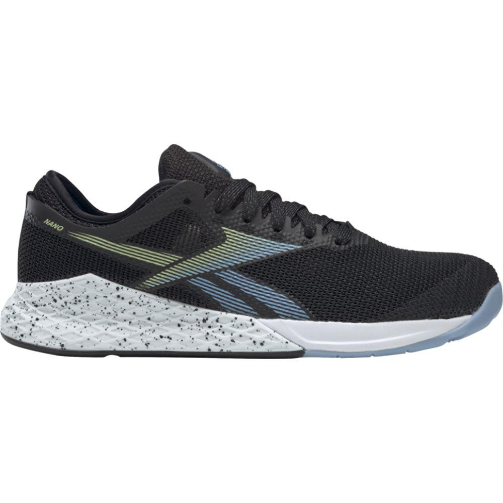 リーボック Reebok レディース フィットネス・トレーニング シューズ・靴【crossfit nano 9.0】Black/Fluid Blue/Lemon Glow
