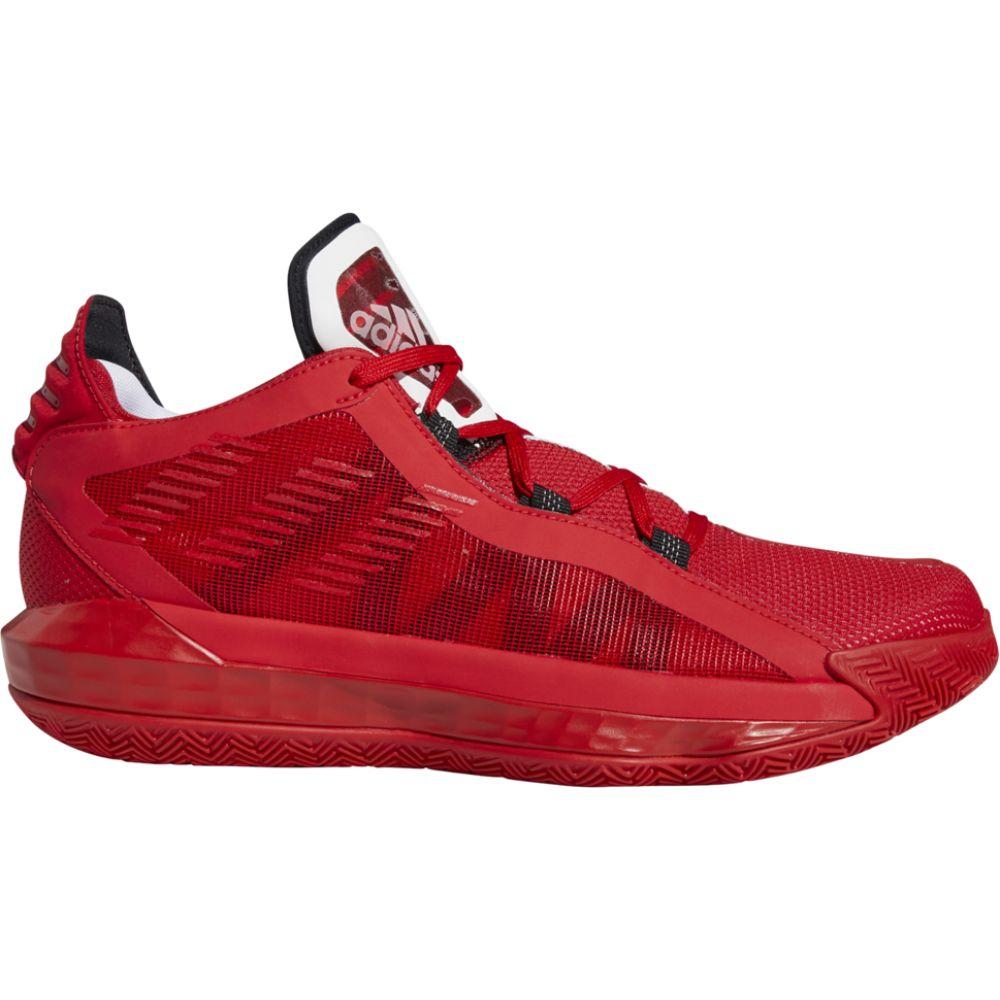 アディダス adidas メンズ バスケットボール シューズ・靴【dame 6】Damian Lillard Black/Scarlet/White