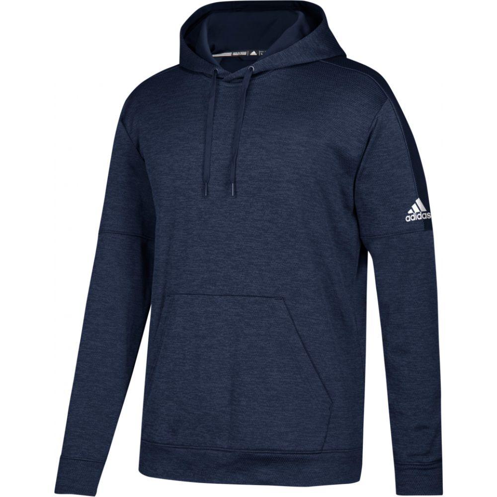 アディダス adidas メンズ フィットネス・トレーニング パーカー トップス【team issue fleece pullover hoodie】Collegiate Navy/White
