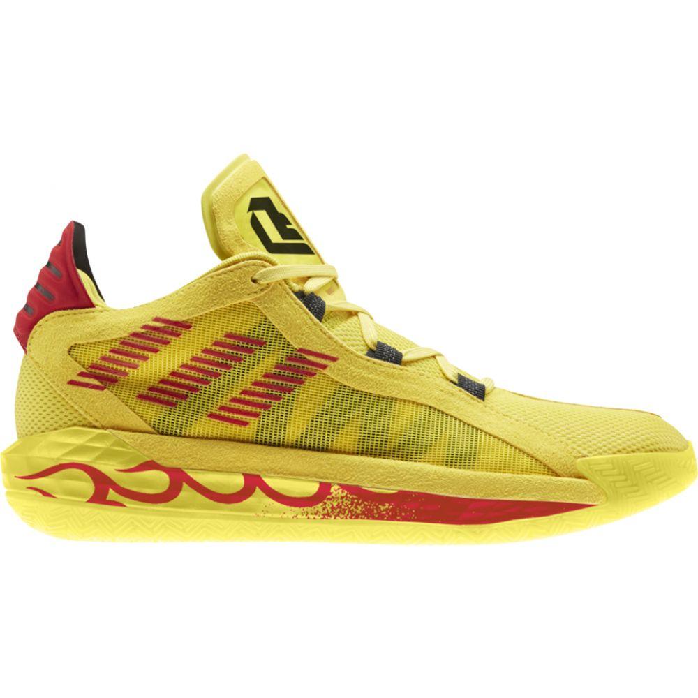 アディダス adidas メンズ バスケットボール シューズ・靴【dame 6】Damian Lillard Team Yellow/Black/Scarlet