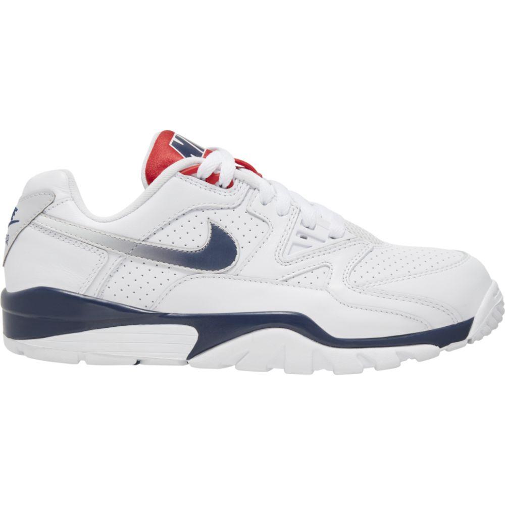 ナイキ Nike メンズ スニーカー シューズ・靴【air cross trainer 3 low】White/Midnight Navy/Midnight Navy