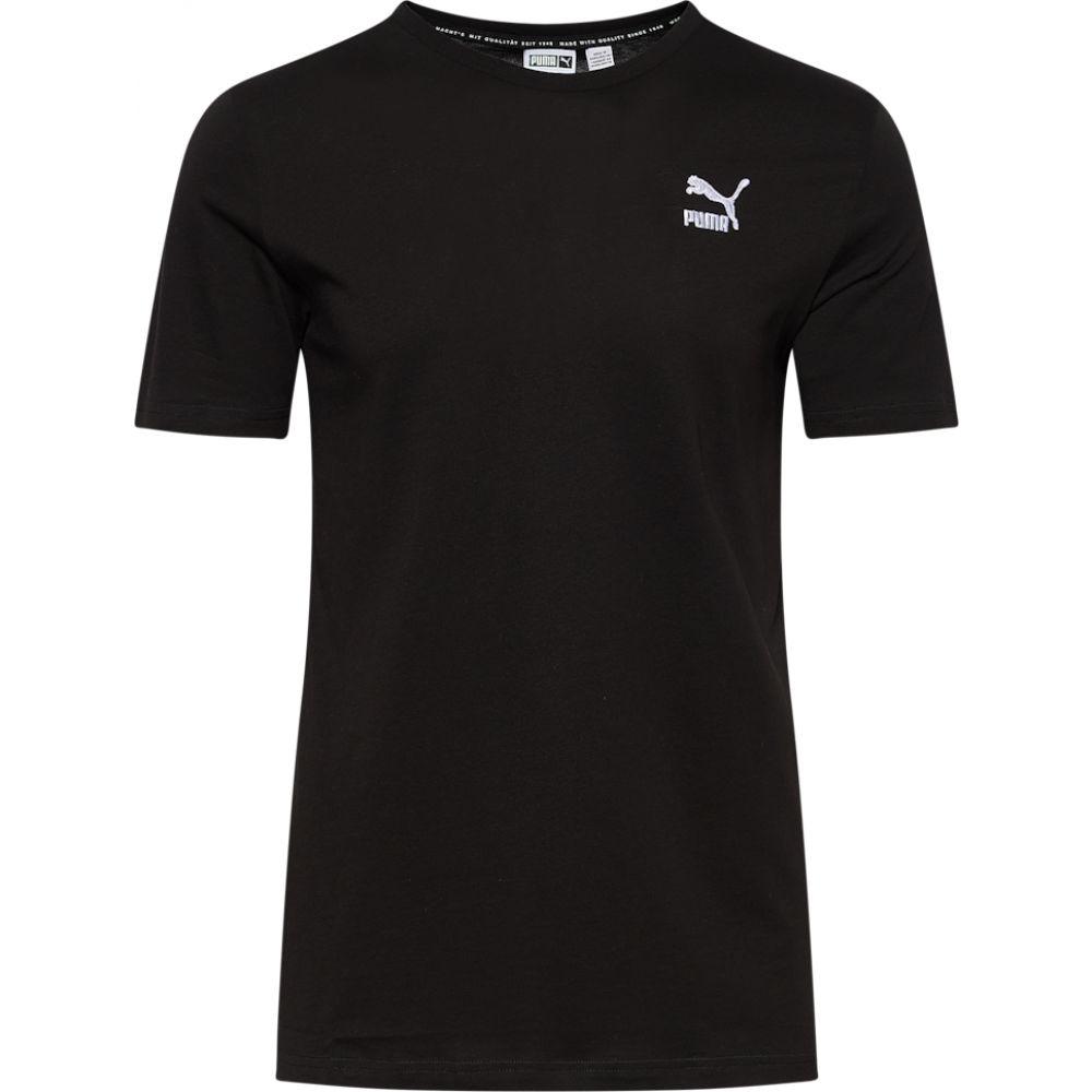 春先取りの プーマ PUMA メンズ Tシャツ トップス【classics logo t-shirt】Puma Black/White, オキナワシ 8cf272e4