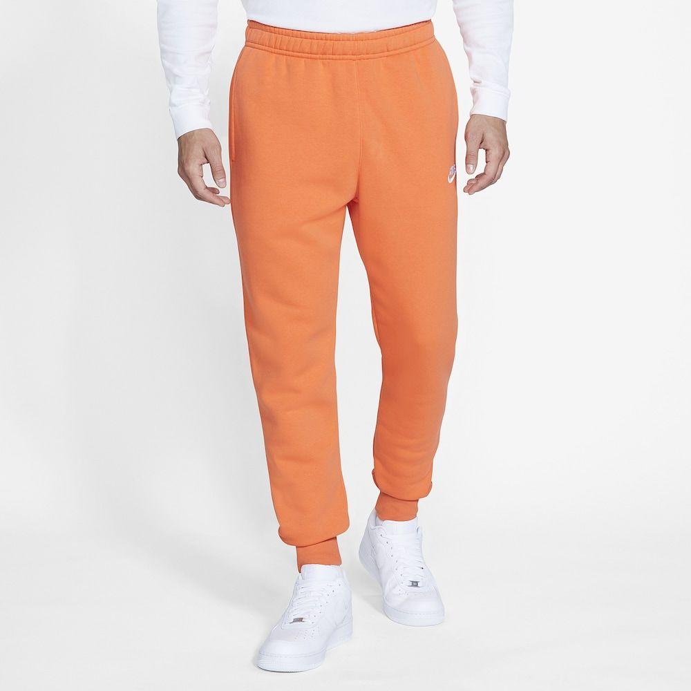 ナイキ Nike メンズ ジョガーパンツ ボトムス・パンツ【club joggers】Electro Orange/Electro Orange/White