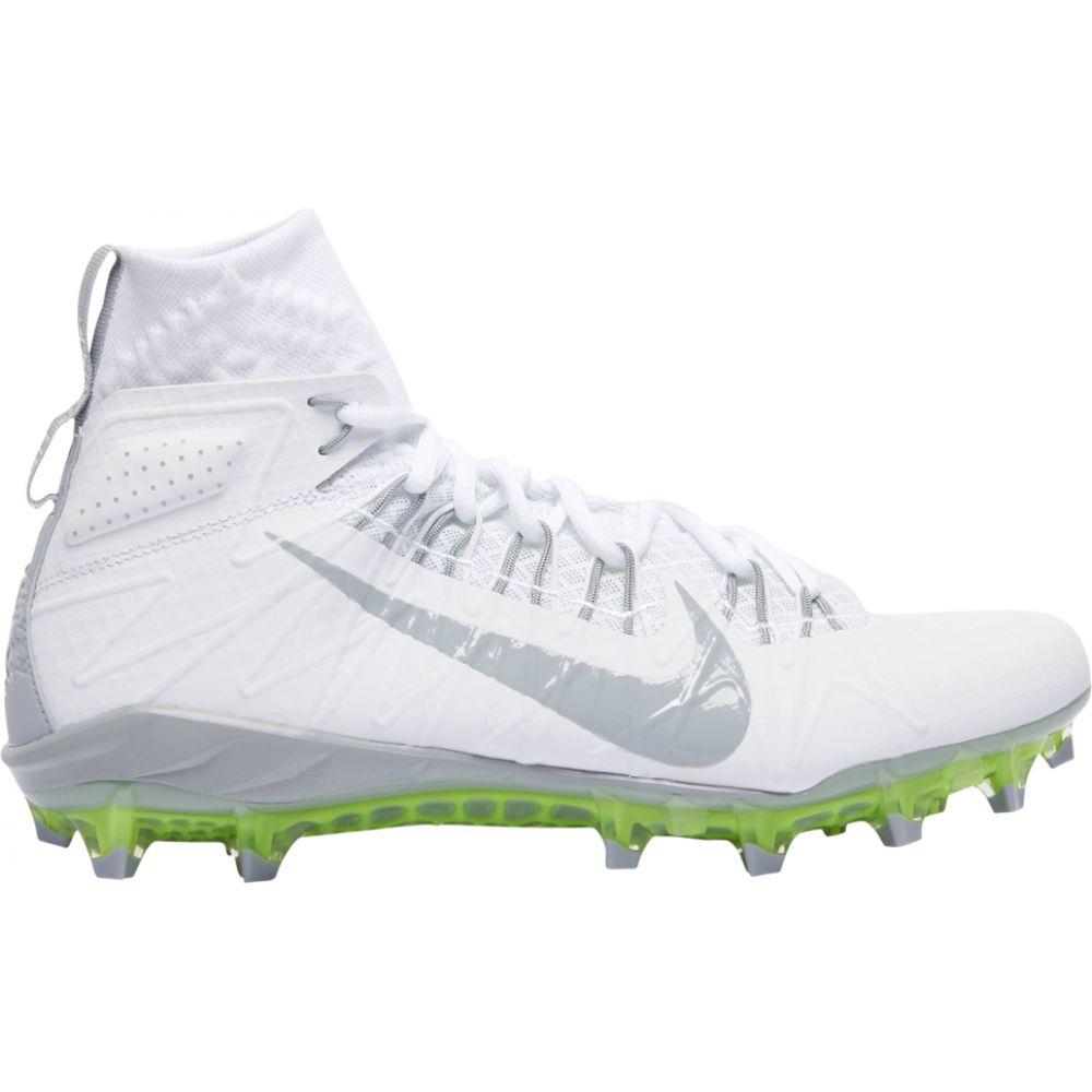 ナイキ Nike メンズ ラクロス シューズ・靴【Alpha Huarache 7 Elite LAX】White/Wolf Grey/Volt
