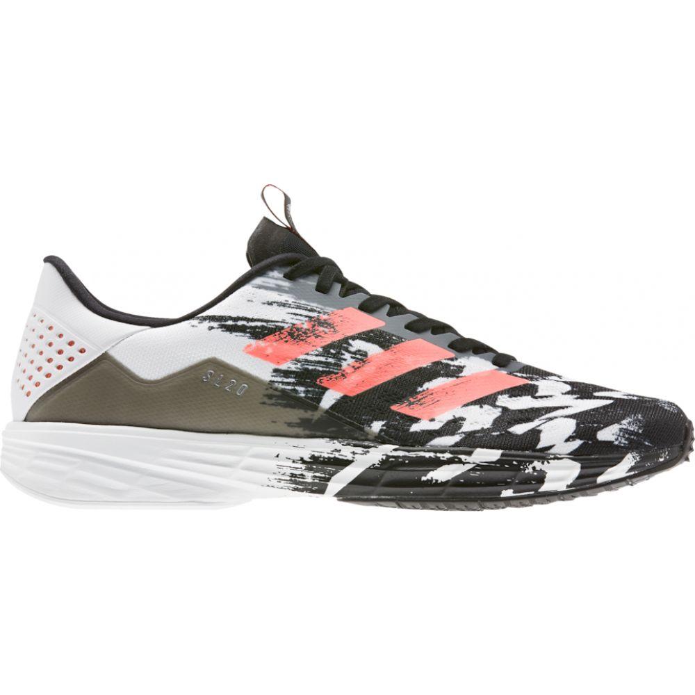 【激安セール】 アディダス adidas メンズ アディダス ランニング・ウォーキング adidas Coral/White シューズ・靴【SL20】Black/Signal Coral/White, VELLE:318543a9 --- lebronjamesshoes.com.co