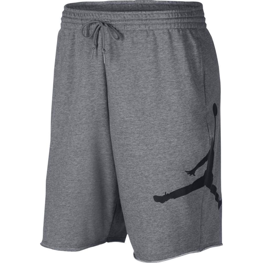 ナイキ ジョーダン Jordan メンズ バスケットボール ジャンプマン ショートパンツ ボトムス・パンツ【Jumpman Fleece Shorts】Carbon Heather/Black