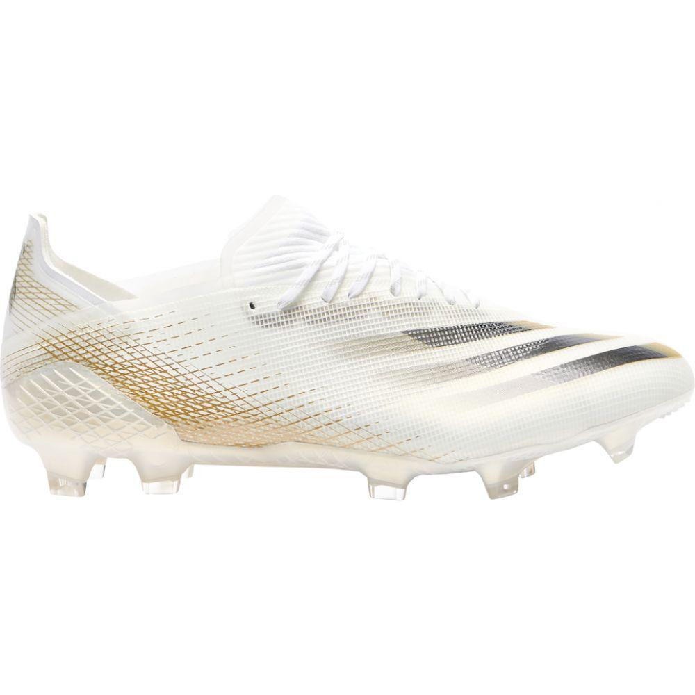 アディダス メンズ サッカー シューズ 靴 Ftwr White Core Black Ghosted.1 Met Melange FG セール 特集 Gold サイズ交換無料 [再販ご予約限定送料無料] adidas X