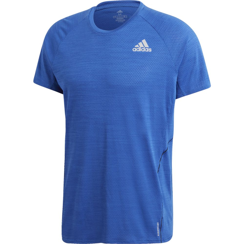 アディダス adidas メンズ ランニング・ウォーキング Tシャツ トップス【Adi Runner S/S Tee】Team Royal Blue