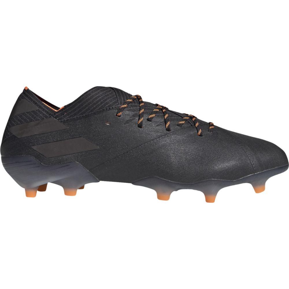 信託 アウトレット アディダス メンズ サッカー シューズ 靴 Core Black サイズ交換無料 Orange Signal adidas 19.1 FG Nemeziz