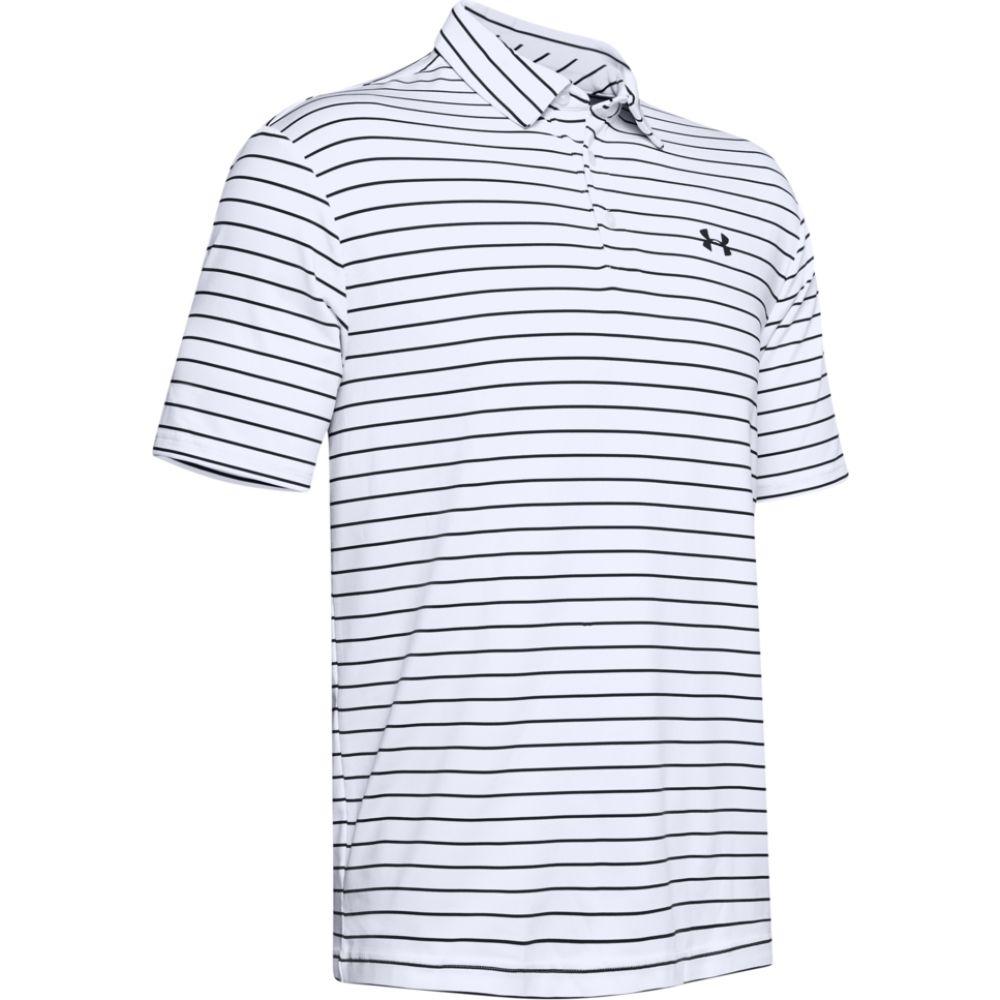 アンダーアーマー メンズ ゴルフ アイテム勢ぞろい トップス White Black サイズ交換無料 2.0 Playoff タイムセール Golf Armour ポロシャツ Polo Under