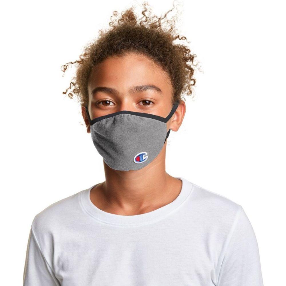 チャンピオン ユニセックス 財布 時計 雑貨 その他雑貨 Champion Grey 激安セール Mask Face Elllipse ディスカウント サイズ交換無料