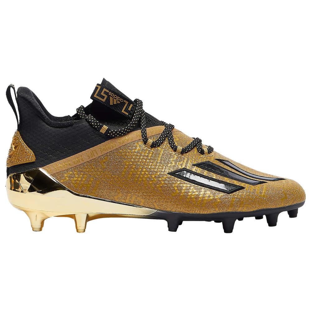アディダス adidas メンズ アメリカンフットボール シューズ·靴【adiZero】Matte Gold/Core Black/Matte Gold New Reign