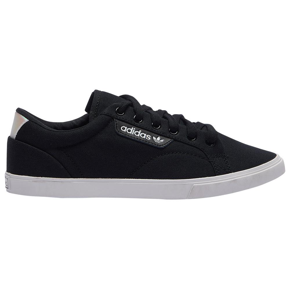 アディダス レディース シューズ 靴 スニーカー Black 並行輸入品 Crystal Lo 品質検査済 adidas Sleek サイズ交換無料 Originals White