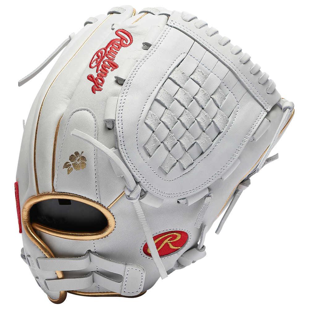 ローリングス レディース 野球 保証 グローブ 蔵 White Gold Series Advanced Rawlings Glove Liberty サイズ交換無料