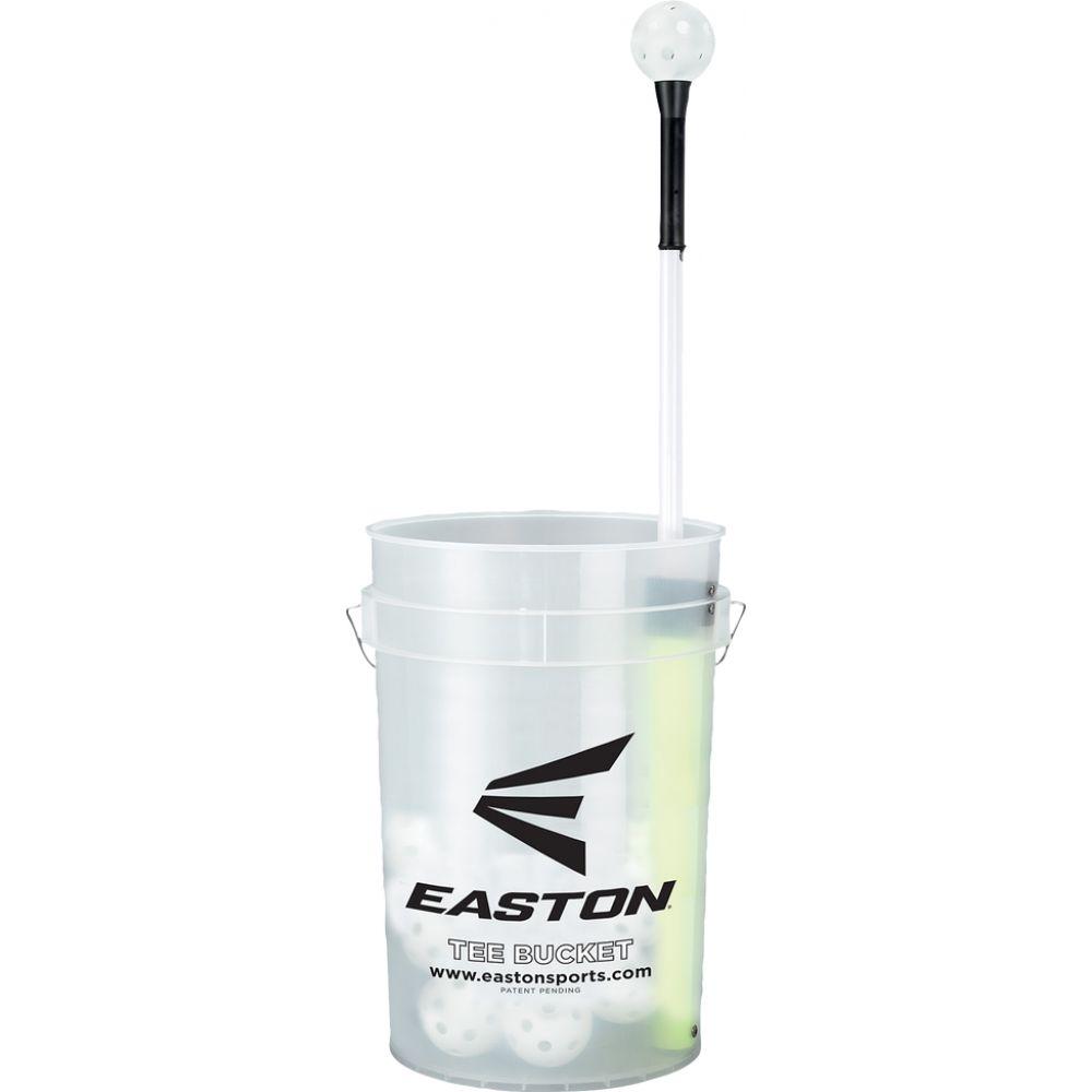 イーストン ユニセックス 野球 その他野球用品 サイズ交換無料 Easton Bucket Training 30 Tee Tシャツ 『4年保証』 Balls メーカー公式ショップ