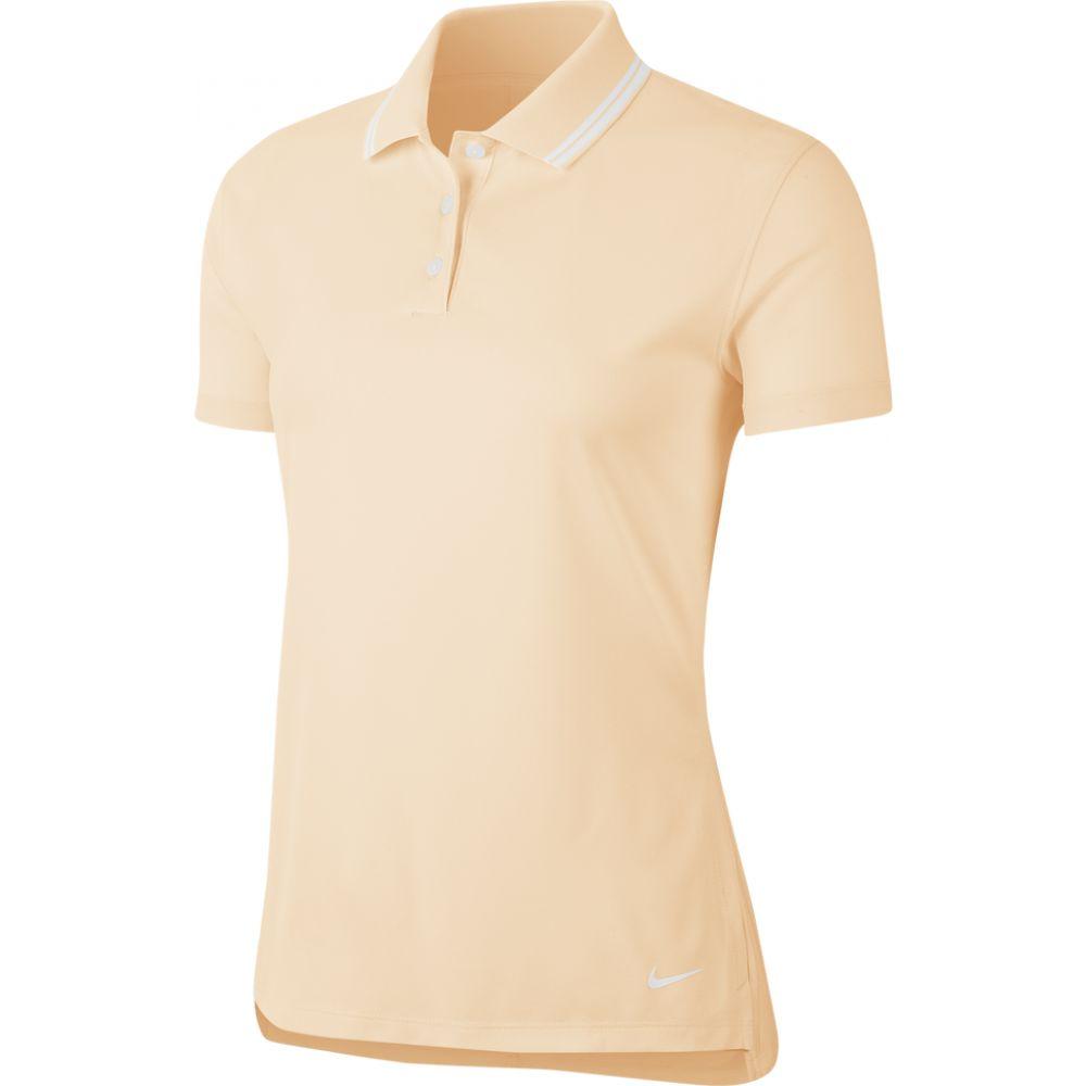 ナイキ レディース ゴルフ トップス Guava Ice White サイズ交換無料 激安特価品 ポロシャツ Solid Dry Golf Polo Victory 受注生産品 Nike