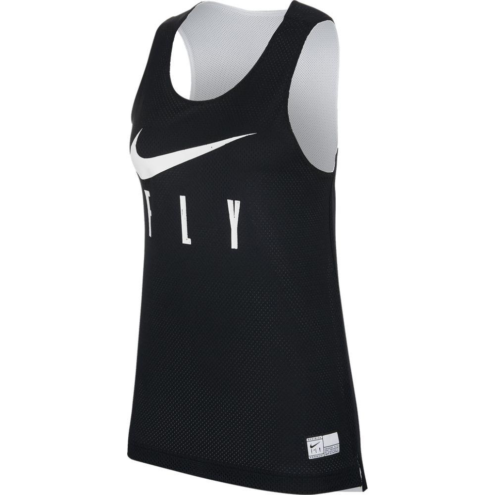 正規認証品!新規格 ナイキ レディース バスケットボール トップス Black White Fly Jersey Nike サイズ交換無料 Reversible マーケティング