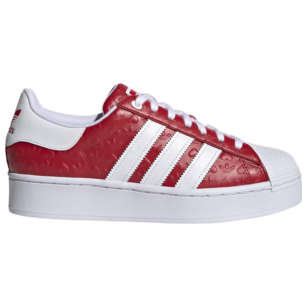 アディダス レディース バスケットボール シューズ・靴 Scarlet/Core Black/White 【サイズ交換無料】 アディダス adidas Originals レディース バスケットボール シューズ・靴【Superstar】Scarlet/Core Black/White