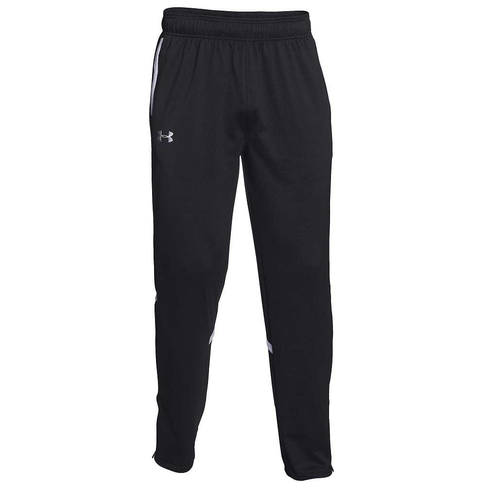 アンダーアーマー メンズ バスケットボール ウェア カジュアルパンツ【Under Armour Team Qualifier Warm Up Pants】Black/White