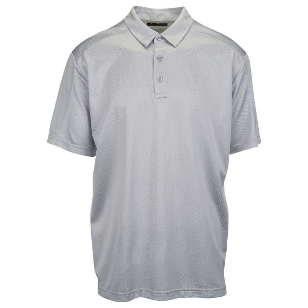 キャロウェイ メンズ ゴルフ ウェア ポロシャツ【Callaway Essential Jacquard Polo】High Rise