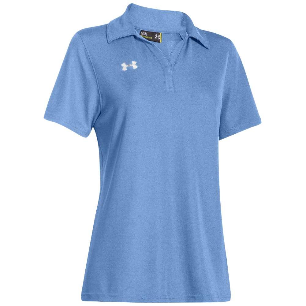 【ネット限定】 アンダーアーマー レディース トップス レディース Blue/White ポロシャツ【Under Armour Team Team Performance Polo】Carolina Blue/White, リトルプリンセスルーム:87046c60 --- themarqueeindrumlish.ie