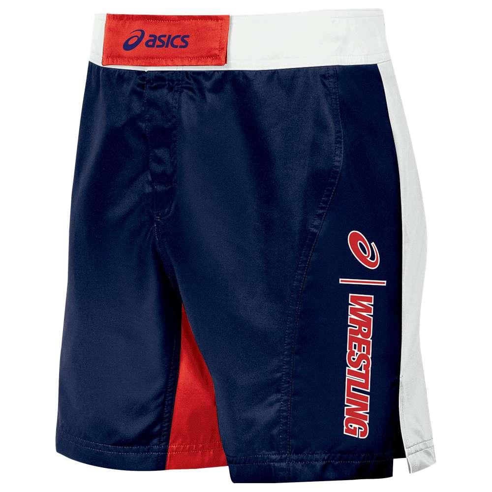 アシックス Shorts】Navy/Red メンズ メンズ レスリング ウェア ボトムス【ASICS Feud Wrestling Shorts Feud】Navy/Red, ゼンリンドライバーズステーション:6bc5484b --- officewill.xsrv.jp