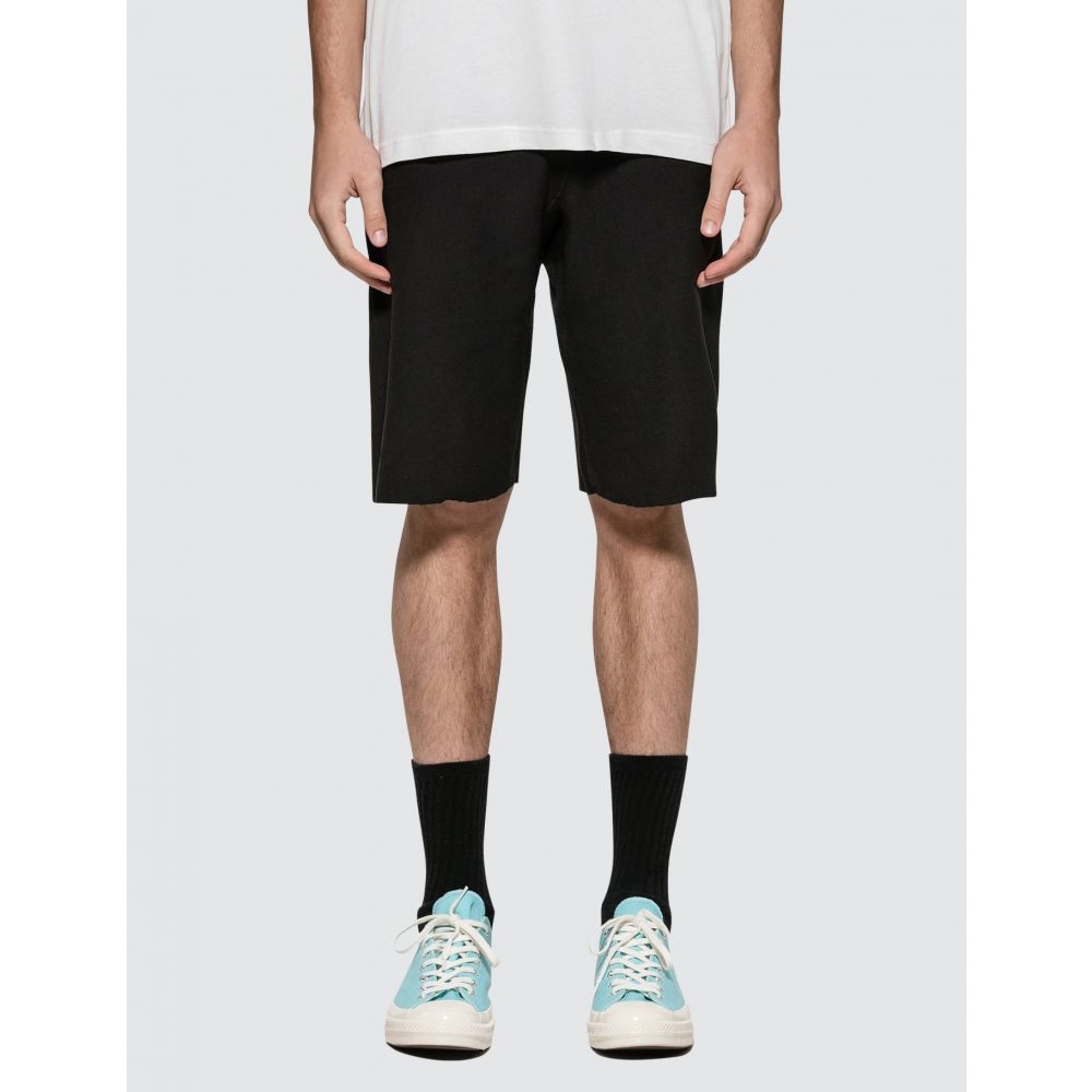 チャンピオン Champion Reverse Weave メンズ ショートパンツ バミューダ ボトムス・パンツ【Bermuda Shorts】Black