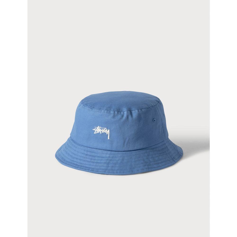 ステューシー Stussy レディース ハット バケットハット 帽子【Stock Bucket Hat】Blue