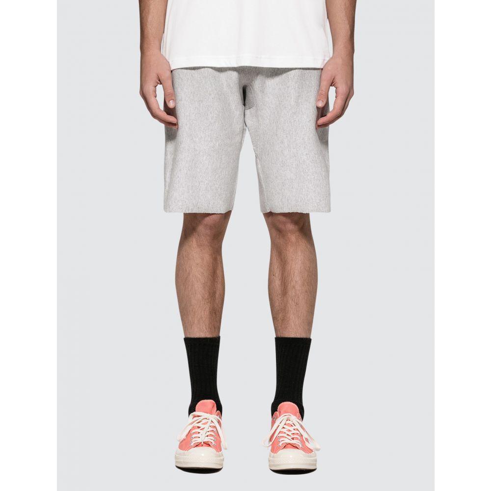 チャンピオン Champion Reverse Weave メンズ ショートパンツ バミューダ ボトムス・パンツ【Bermuda Shorts】Light Grey