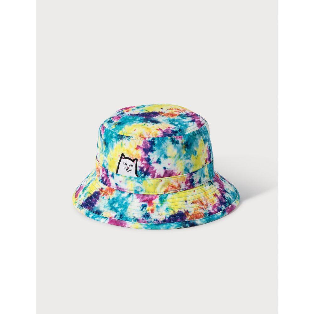 リップンディップ RIPNDIP レディース ハット バケットハット 帽子【Lord Nermal Bucket Hat】Multicolor Tie Dye
