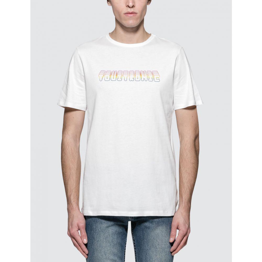 アーペーセー A.P.C. メンズ Tシャツ トップス【Touitronic S/S T-Shirt】Blanc