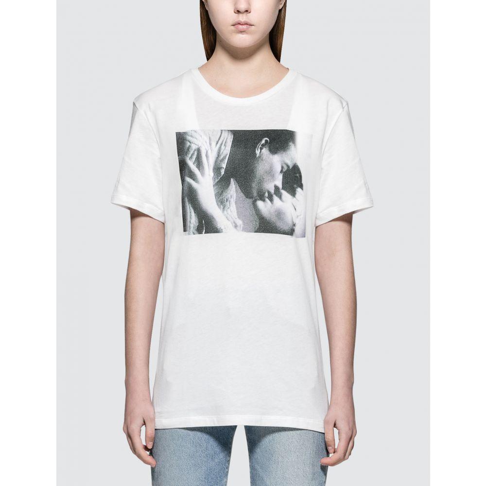 カルバンクライン Calvin Klein Underwear レディース Tシャツ トップス【Andy Warhol S/S T-Shirt】White