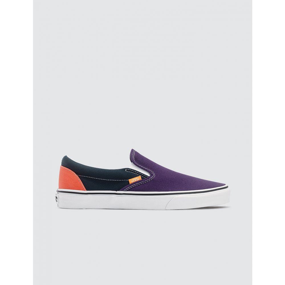 ヴァンズ Vans メンズ スリッポン・フラット シューズ・靴【Classic Slip-on】Violet/Navy/Olive/Orange