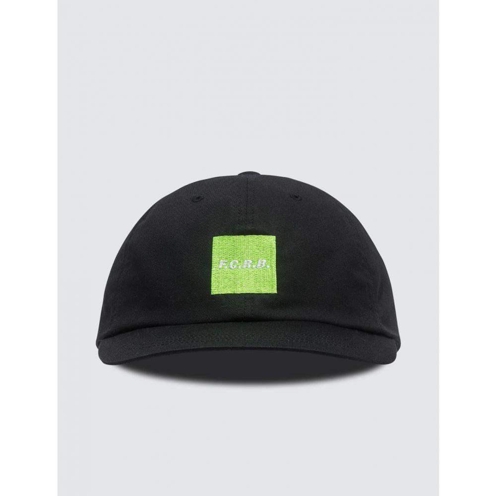 エフシーレアルブリストル F.C. Real Bristol メンズ キャップ 帽子【Square F.C.R.B. Cap】Black