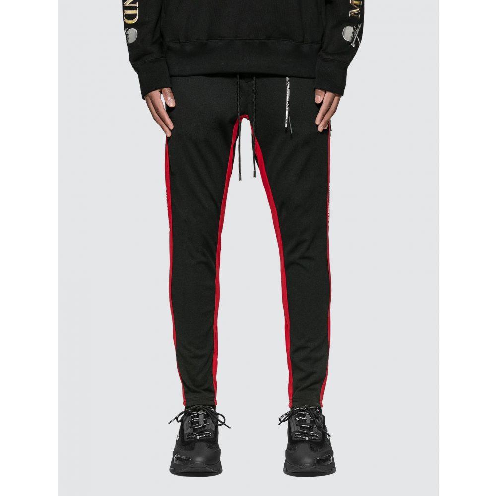 マスターマインド Mastermind World メンズ ジョガーパンツ ボトムス・パンツ【Skull Logo Jogger Pants】Black/Red