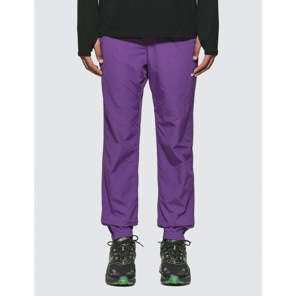 エフシーレアルブリストル F.C. Real Bristol メンズ ボトムス・パンツ 【Nylon Easy Long Pants】Purple