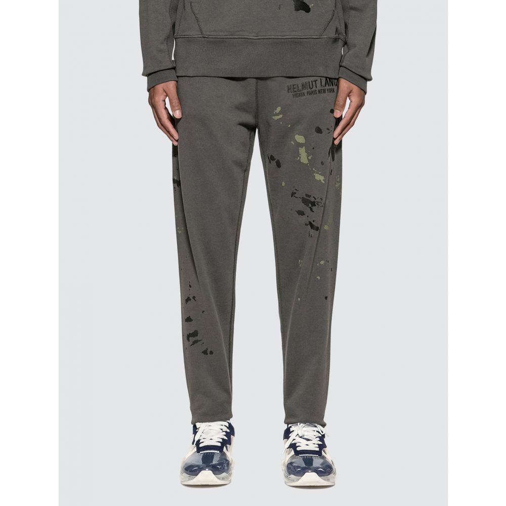 ヘルムート ラング Helmut Lang メンズ スウェット・ジャージ ボトムス・パンツ【Masc Painter Sweatpants】Pewter Grey
