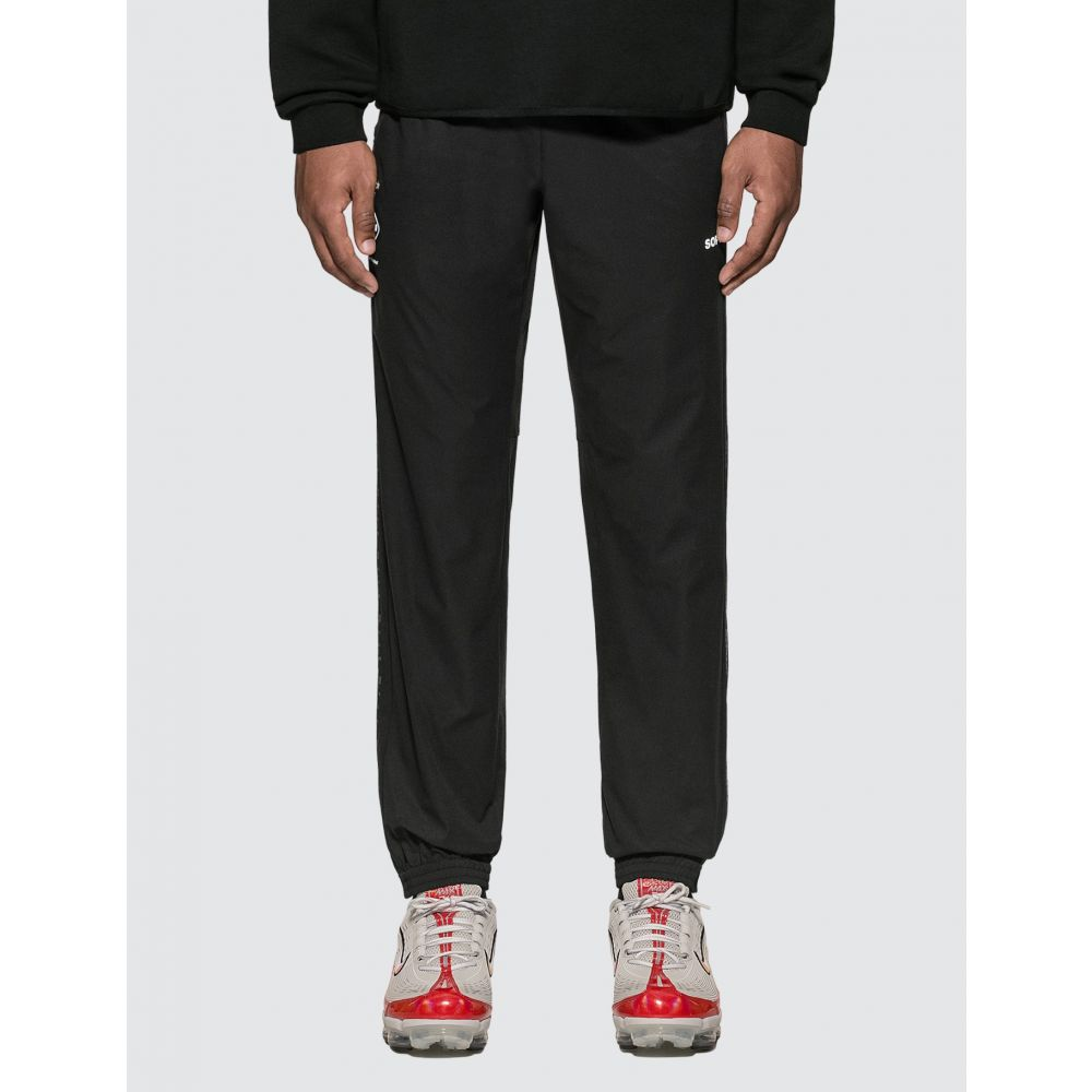 エフシーレアルブリストル F.C. Real Bristol メンズ ボトムス・パンツ 【4 Ways Stretch Side Line Pants】Black