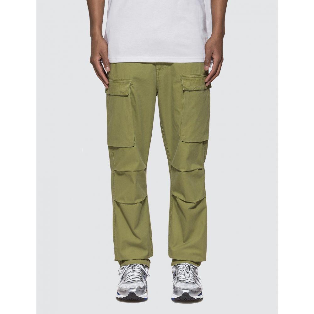 カーハート Carhartt Work In Progress メンズ ボトムス・パンツ 【Troop Pants】Green Olive