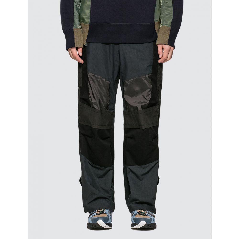 サカイ Sacai メンズ ボトムス・パンツ 【Fabric Combo Pants】Black