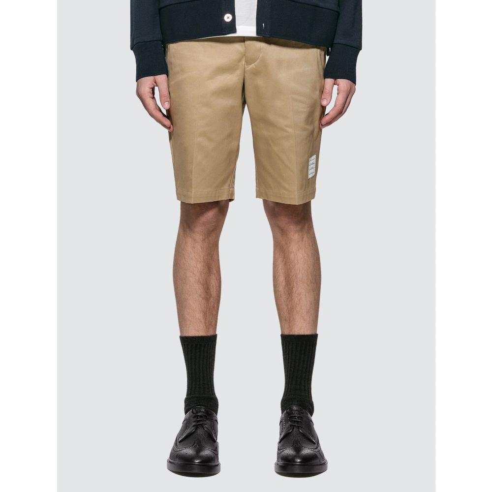 メンズ Shorts】Camel トム ショートパンツ Chino Browne Thom ボトムス・パンツ【Unconstructed ブラウン