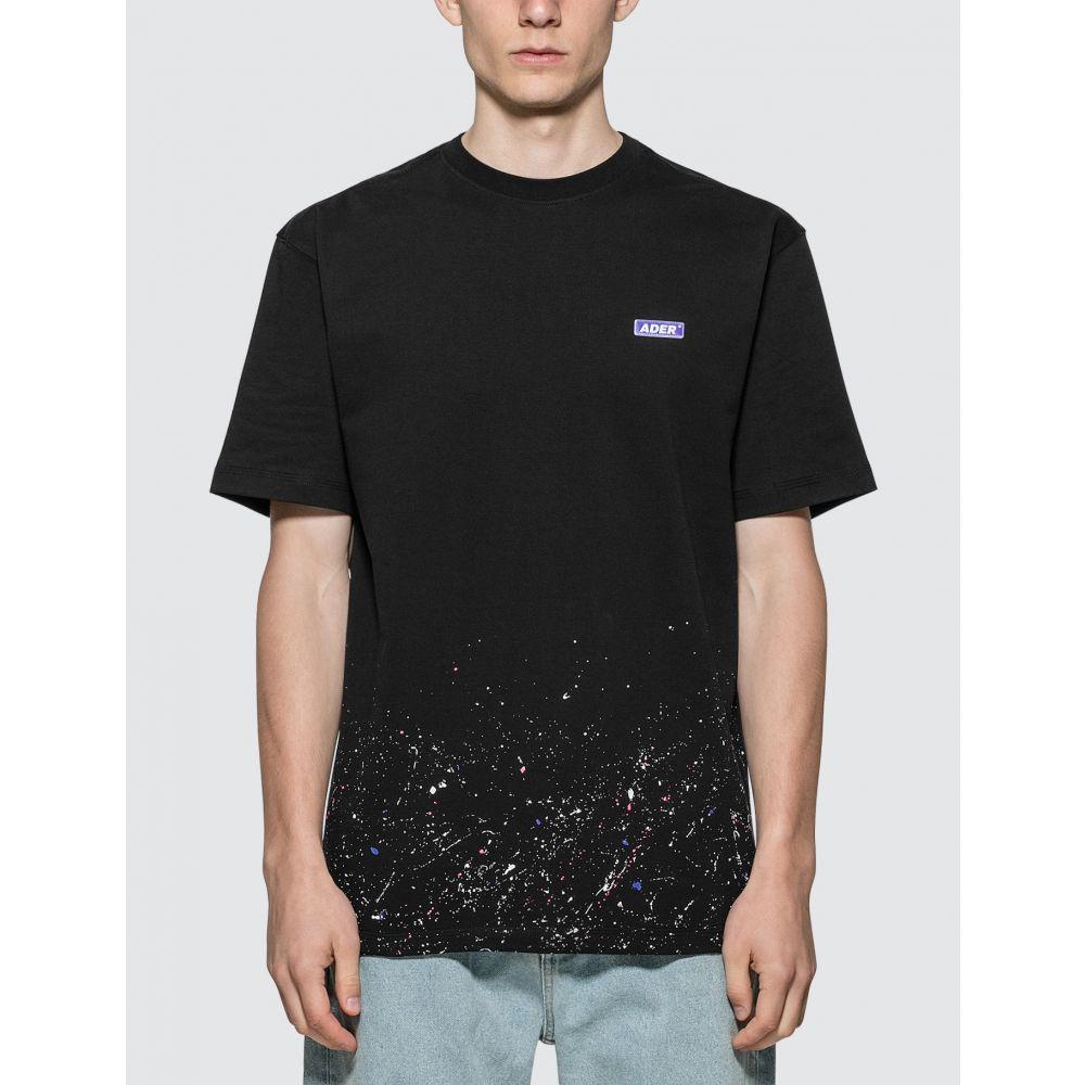 アーダーエラー Ader Error メンズ Tシャツ トップス【Rentia T-shirt】Black