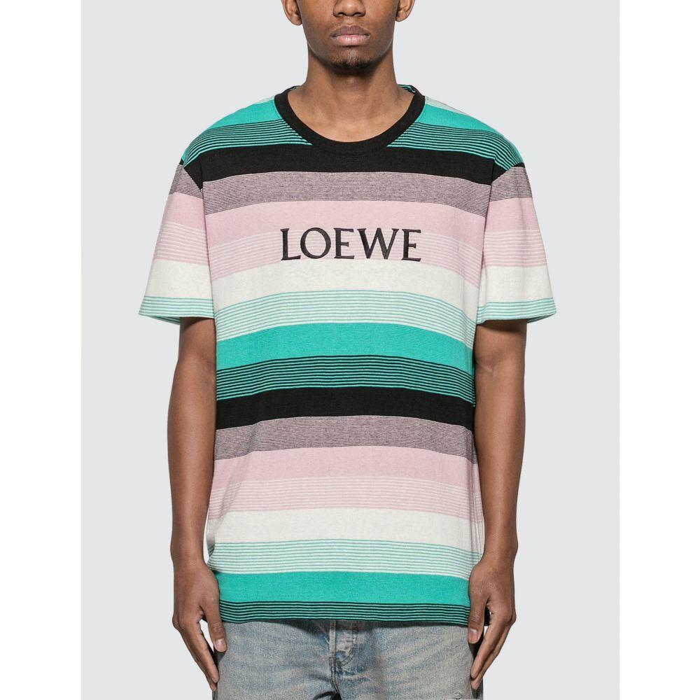 ロエベ Loewe メンズ Tシャツ トップス【Stripe T-Shirt】Multicolor