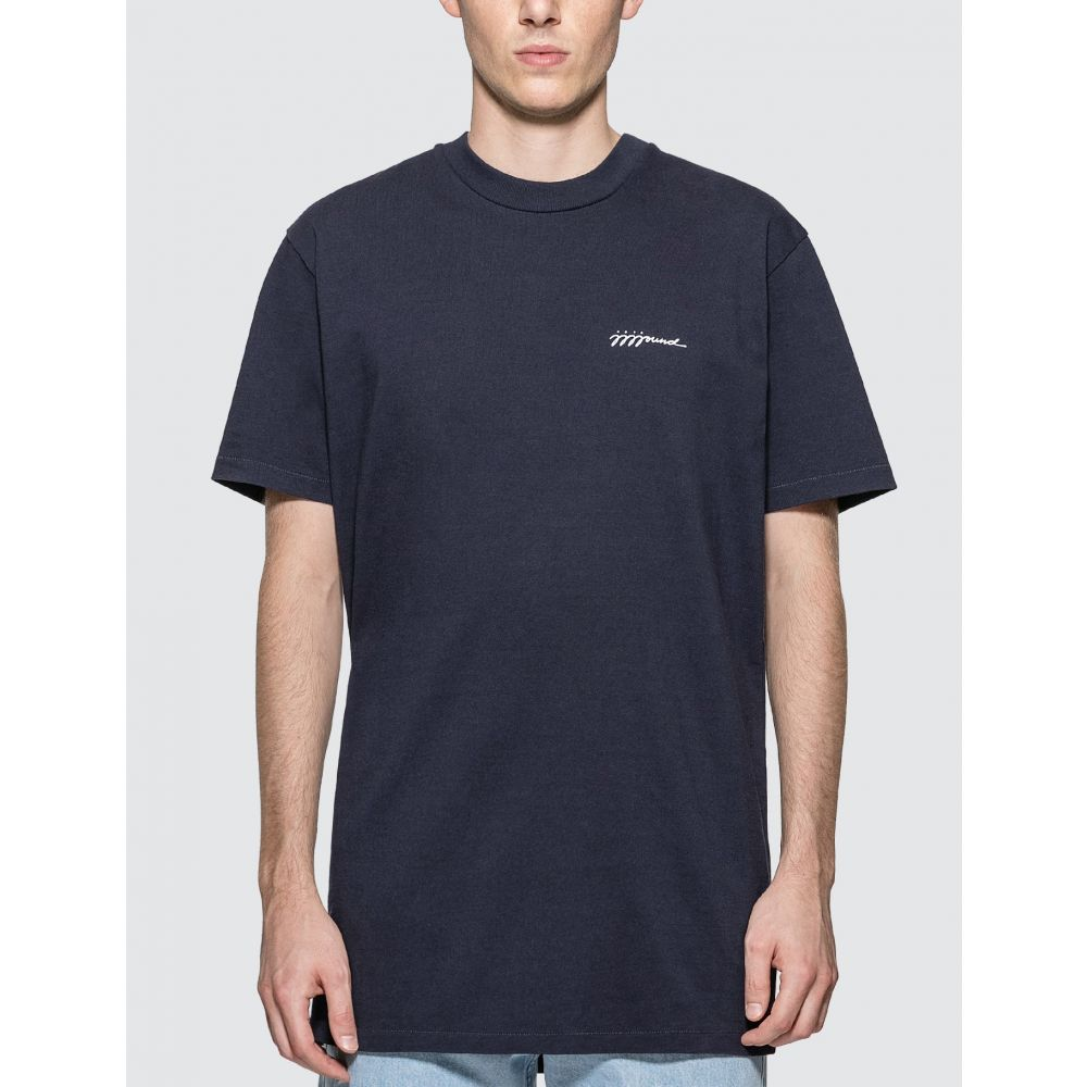 アーペーセー A.P.C. メンズ Tシャツ トップス【JJJJound T-Shirt】Iak Dark Navy