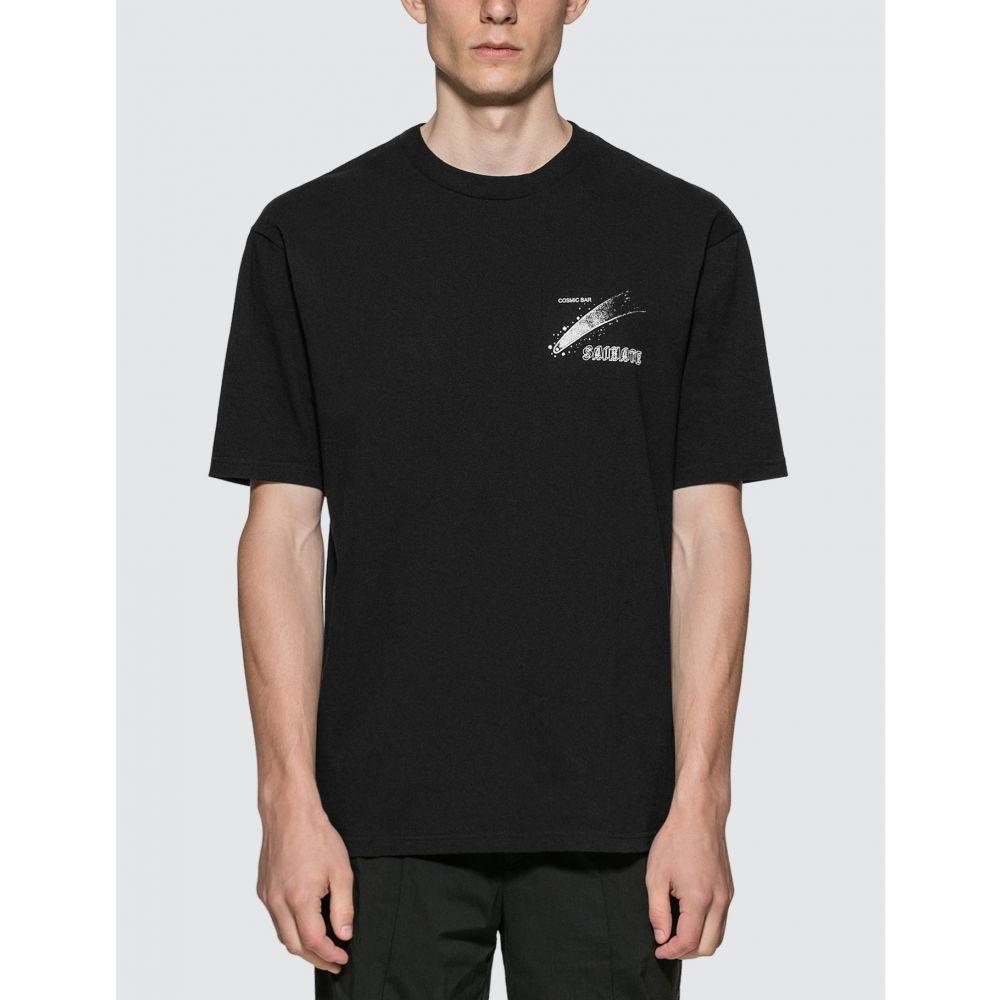 アンダーカバー Undercover メンズ Tシャツ トップス【Cosmic Bar T-Shirt】Black
