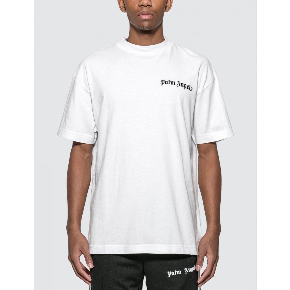 パーム エンジェルス Palm Angels メンズ Tシャツ トップス【New Basic T-Shirt】White