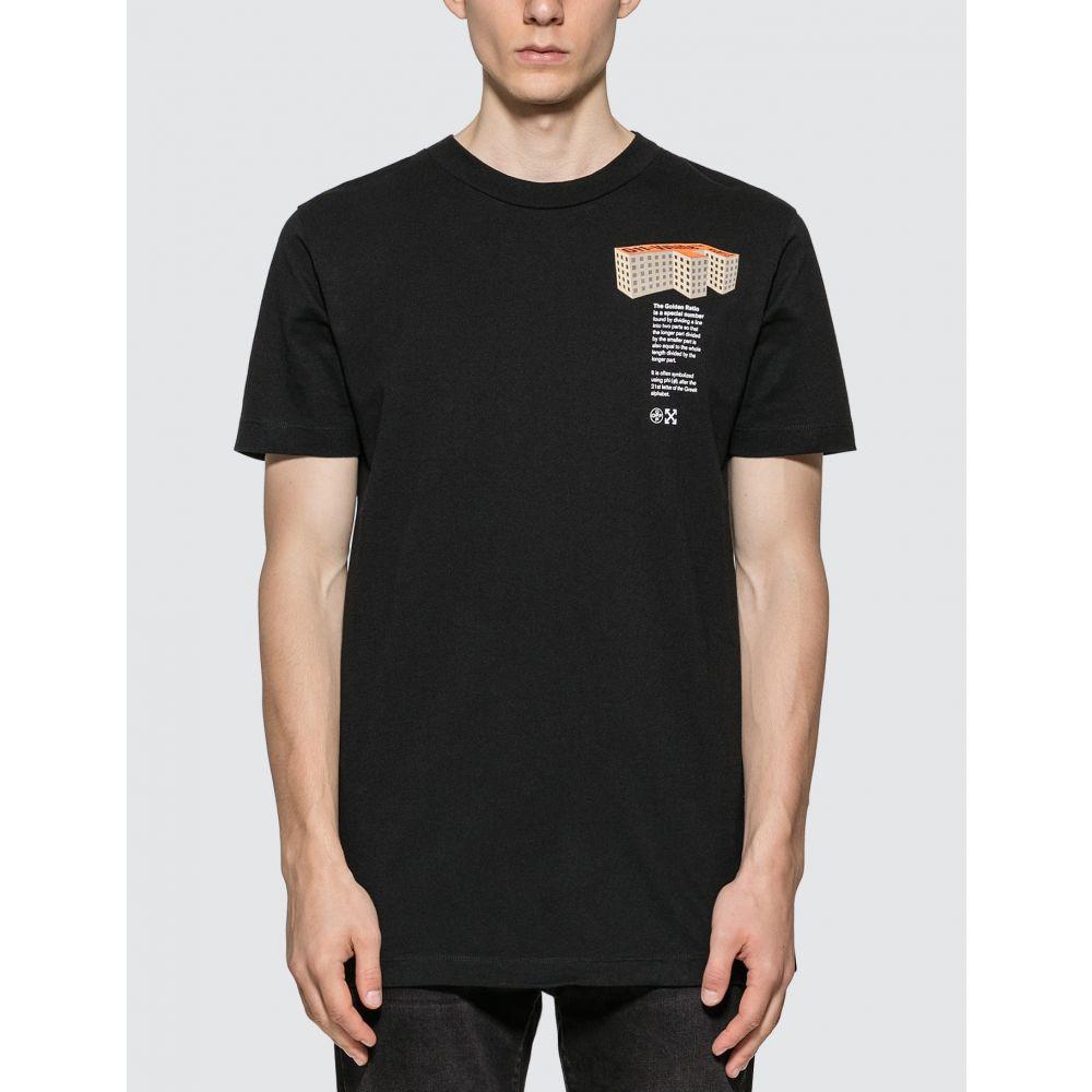 オフホワイト Off-White メンズ Tシャツ トップス【Building Slim T-Shirt】Black